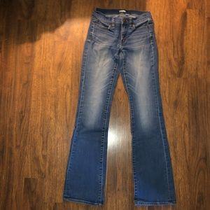 GUac J. Crew Bootcut Jeans